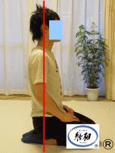 腰痛、身体のゆがみの改善例