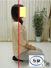 ねこ背(猫背)、足のつけ根(股関節)の痛みの改善例