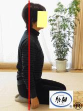腰痛(ぎっくり腰)、肩凝り(肩こり)の改善例