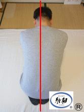 背中のはり(張り)(いたみ)(痛み)、身体のゆがみ、腰痛の改善例